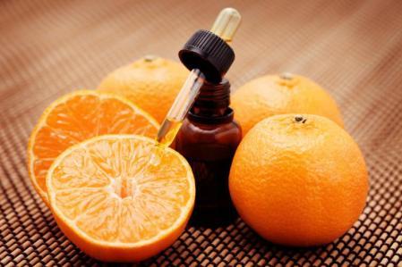 Aceite naranja